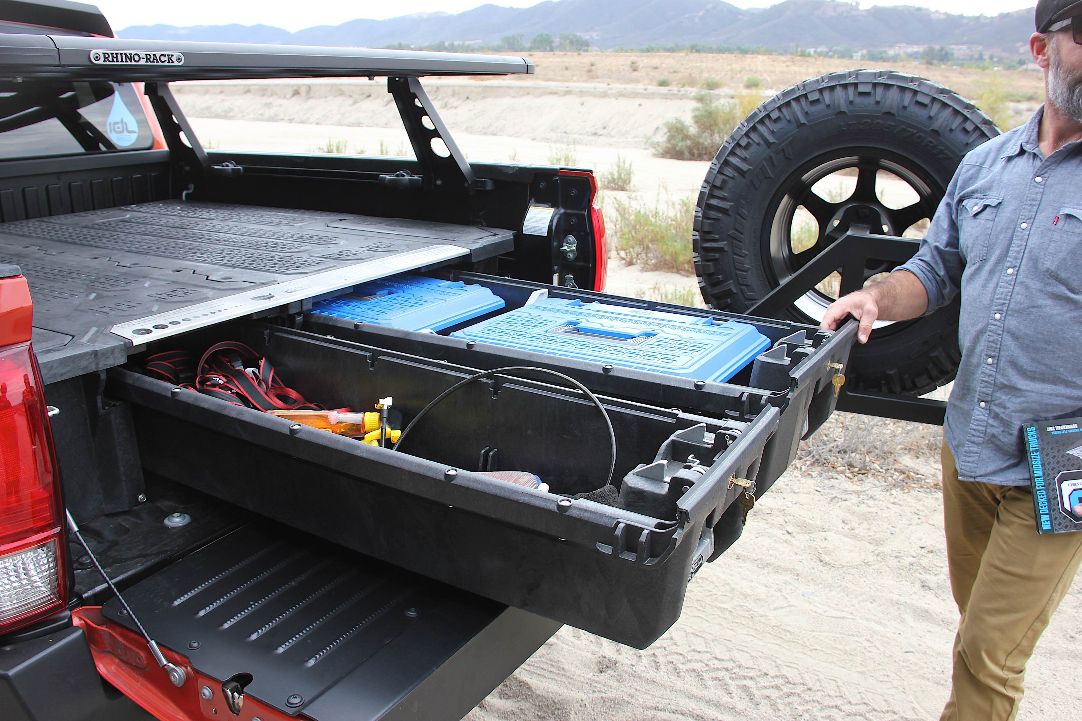 Decked Out Jeep Wrangler >> Decked Out: Toyota Tacoma With Decked In-Bed Storage System