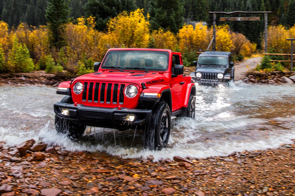 Jeep's JL Wrangler: EcoDiesel And Turbo Gas I4, Plus ...