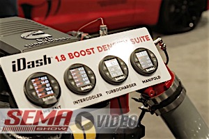 SEMA 2017: Banks Power's New iDash Boost Density Suite