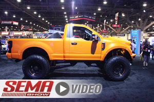 SEMA 2017: BDS's SD126 Super Duty
