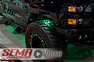 SEMA 2017: Fab Fours Fender System Allows Clearance On Big Tires