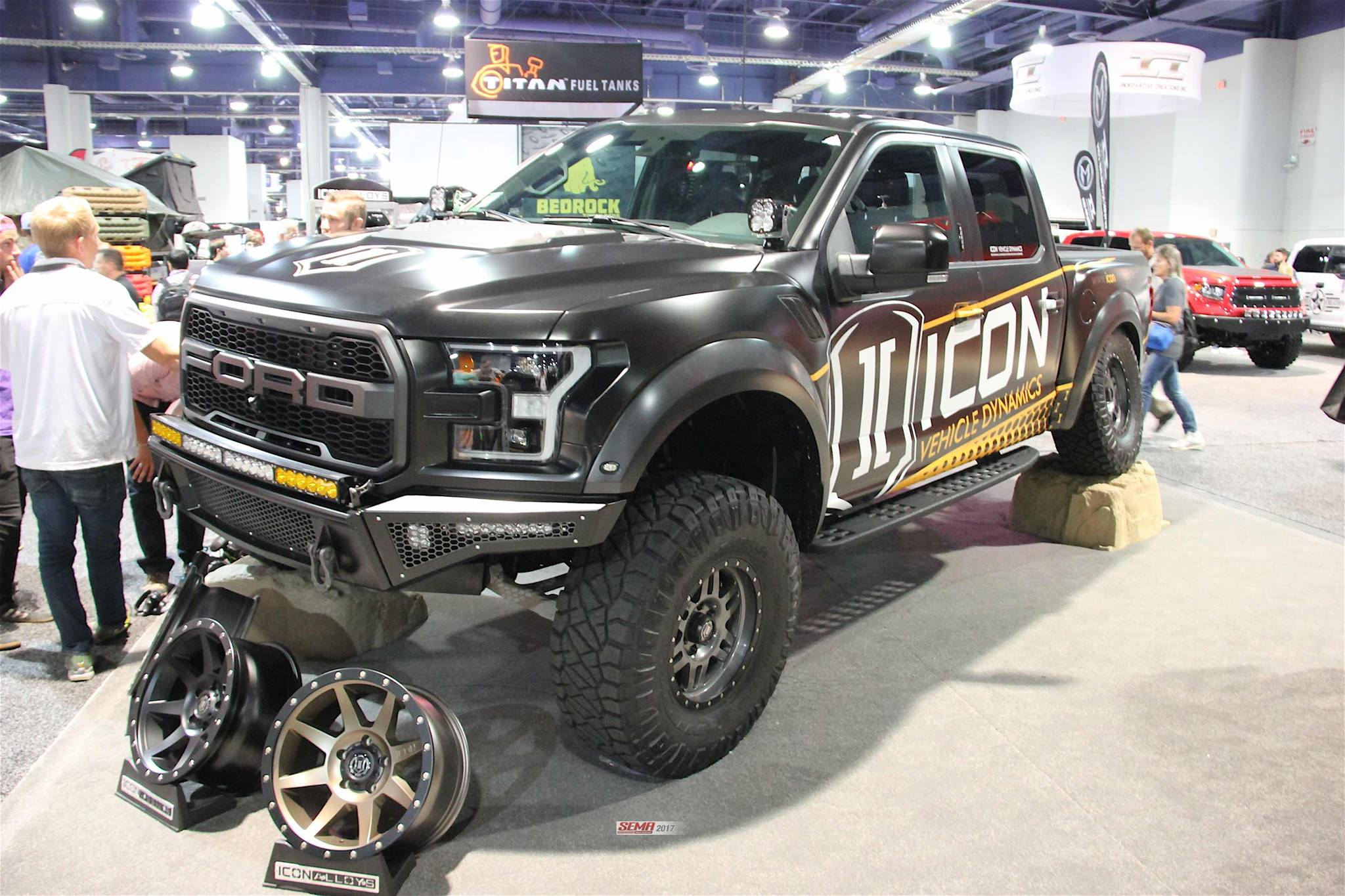 F250 2019 >> SEMA 2017: Icon Vehicle Dynamics New Wheels and Shocks