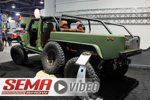 SEMA 2017: JKS Manufacturing Suspension On 6x6 Jeep