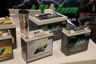 SEMA 2017: Lithium Pros Ultra Lightweight Batteries