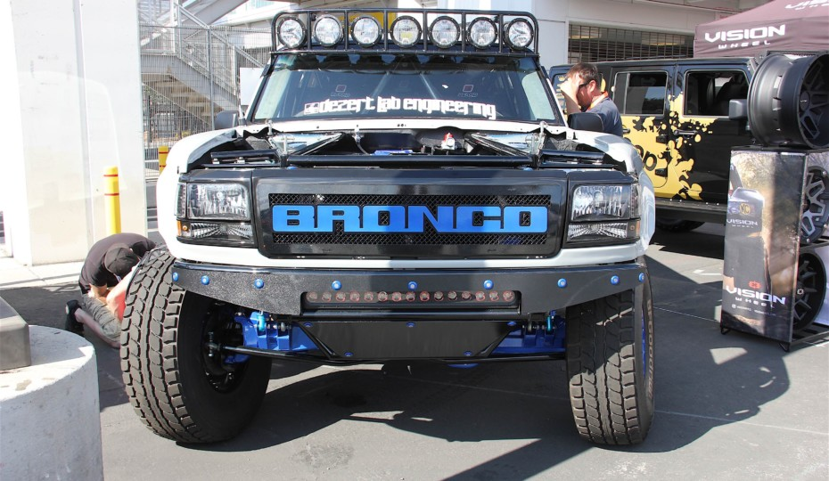 SEMA 2017: One Bad Bronco Makes It To Battle Of The Builders Top 12