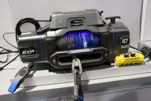 SEMA 2017: Superwinch Goes Big With EXP Winch For Large Trucks