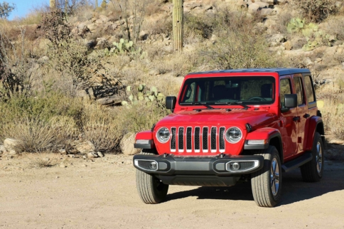 First Drive: 2018 Jeep Wrangler JL