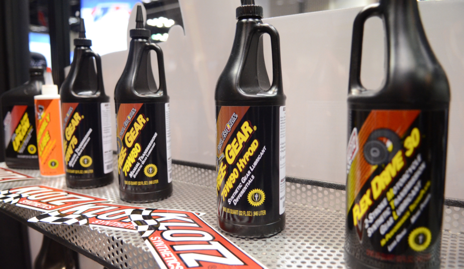 PRI 2017: Klotz's Lineup Of Transmission and Rear Gear Oils