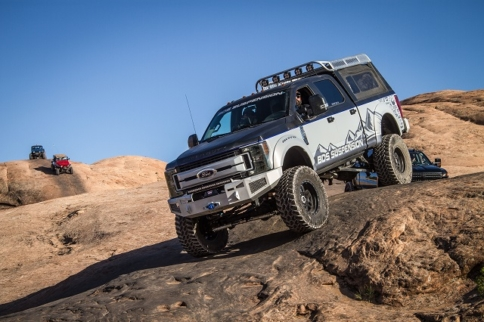 """BDS Releases 8"""" 4-link Lift System For 2017+ Ford Super Duty Trucks"""