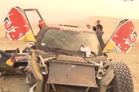 Bryce Menzies Suffers Catastrophic Crash During Day 2 Of Dakar