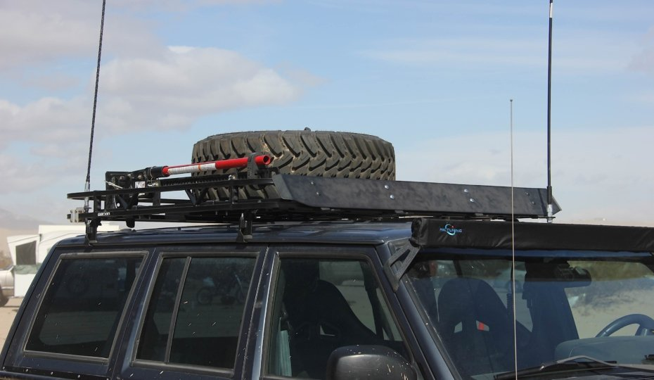 Project XtremeJ Gets Overlanding-Ready With A Garvin Roof Rack