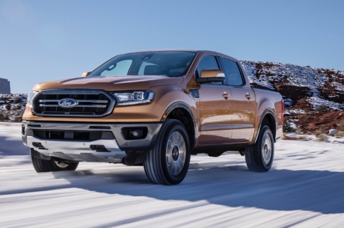 She's Back! 2019 Ford Ranger Debuts In Detroit At NAIAS
