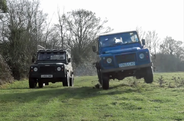 "Video: Land Rover Madness In ""Farmkhana"""