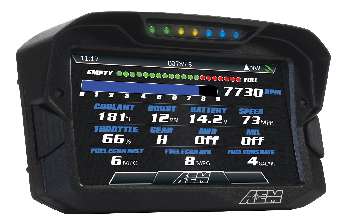 Aem Releases Plug Amp Play Polaris Rzr Digital Dash Kit