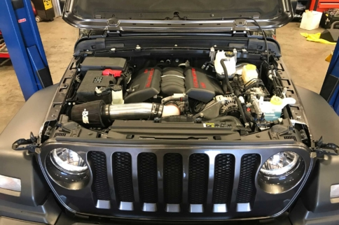Bruiser Conversions Has Already LS-Swapped The Brand New Wrangler
