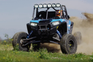 Polaris RZR Star Car: Drag Racers Brown and Torrence Racing The Mint