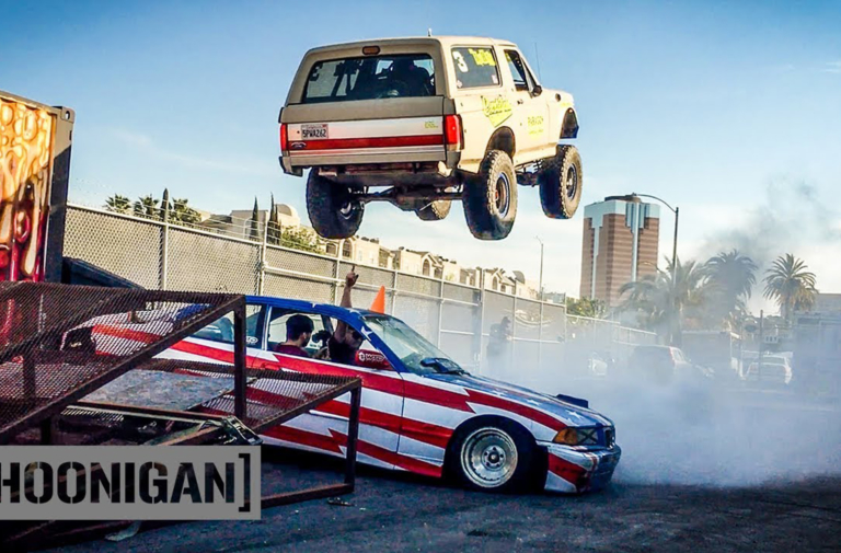 Video: Hoonigans Launch Bronco Prerunner On Daily Transmission