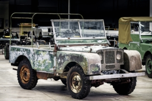 Land Rover Will Restore One of Its Original Pre-Production Models