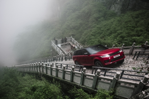 Range Rover Sport PHEV Climbs to Heaven's Gate