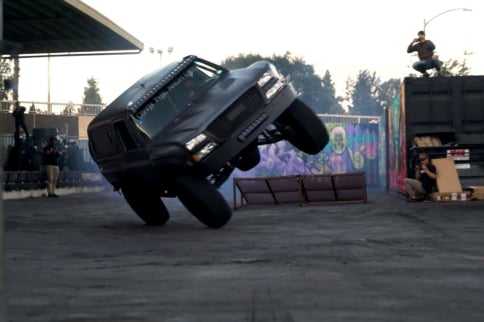 Video: BJ Baldwin Returns To Donut Garage With His K5 Blazer