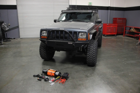 Winch Ready: XtremeJ Barricade Winch Installation