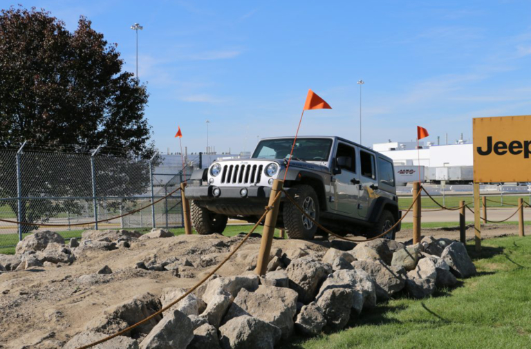 FCA Employees Drive the Jeep Wrangler They Build at Toledo Complex