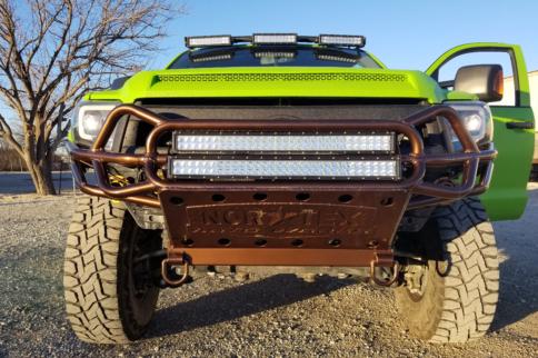 Green Monster: Dave Madonna's 2014 Toyota Tundra, AKA Thumper