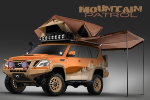 "Nissan Social Media Fans Helping Build ""Mountain Patrol"" Concept"