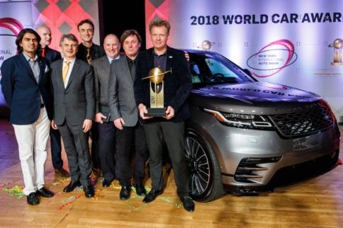 Range Rover Velar Wins World Car Design of the Year Award