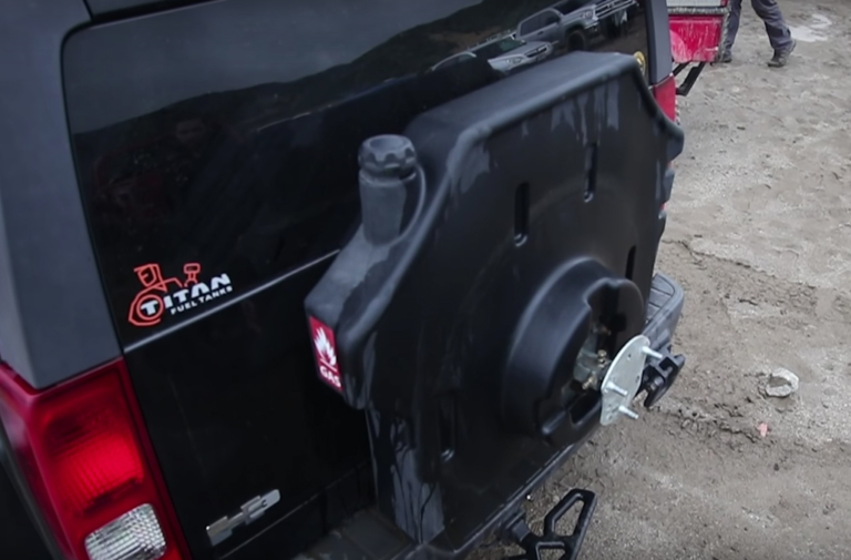 Video: Titan Fuel Tanks Showcases Trail Trekker II At Jump Champs