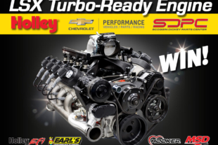 Win A Turbocharger-Ready LS Engine For Your Ride