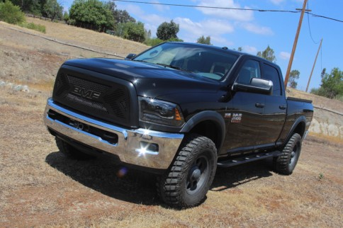 Cookin' With Gas: BMF Grille On A 2017 Ram 2500