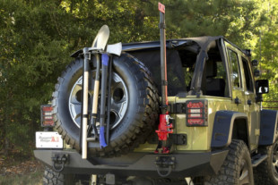 Rugged Ridge Introduces Recovery Tool Rack For Jeeps