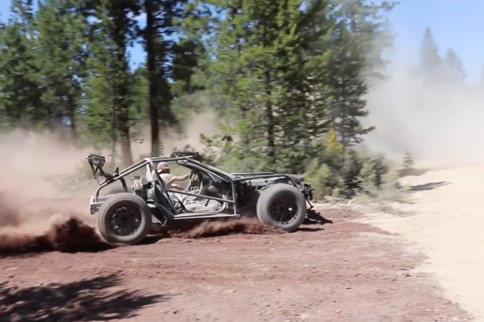 Video: B Is For Build Brings Its Corvette Go-Kart To Gambler 500