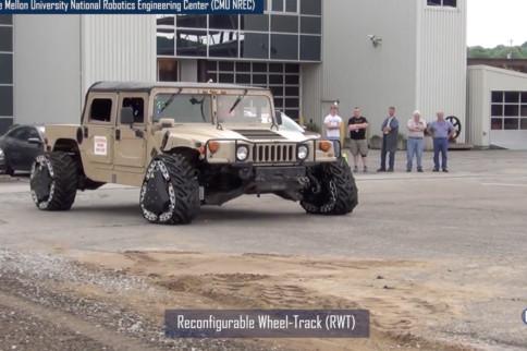 Video: DARPA's Ground X-Vehicle Technologies
