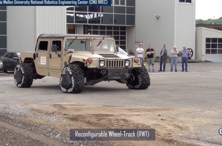 Video: DARPA's Ground X-Vehicle Technologies