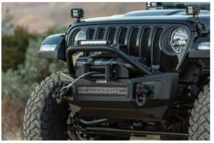 Go Rhino Releases Jeep JL Bumpers And Tire Relocation Kit