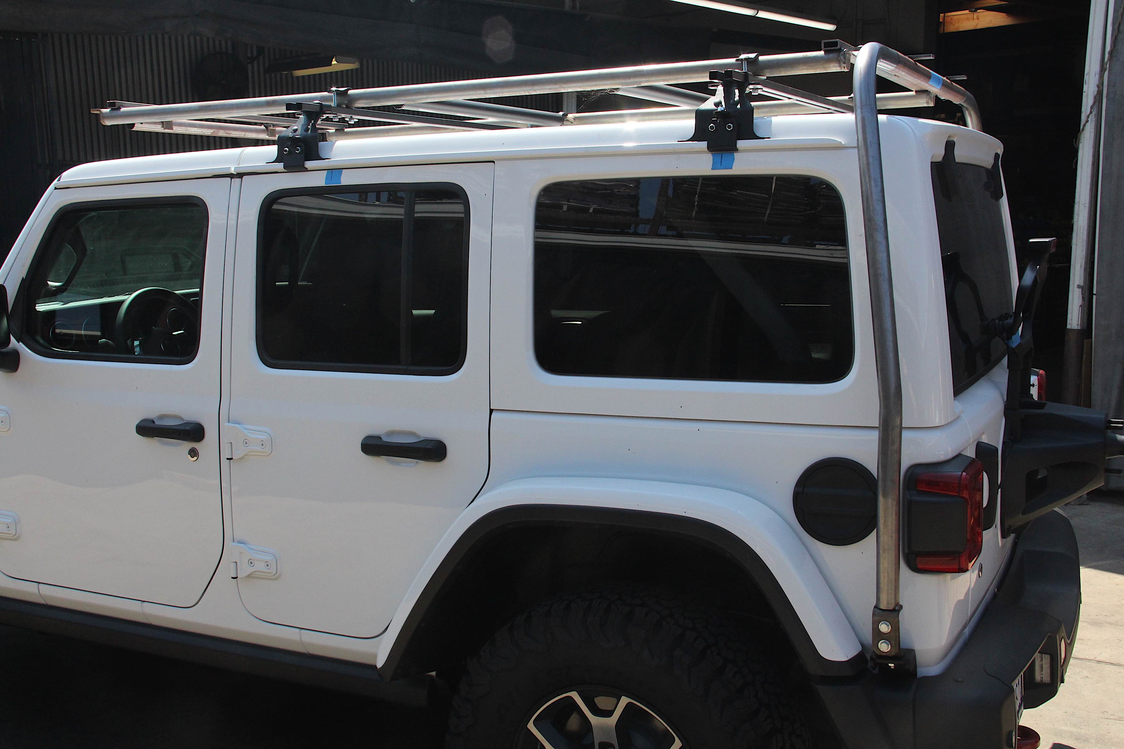 Lift Kits For Jeeps >> Quick Hit: Garvin Wilderness Products Talks JL Roof Rack ...