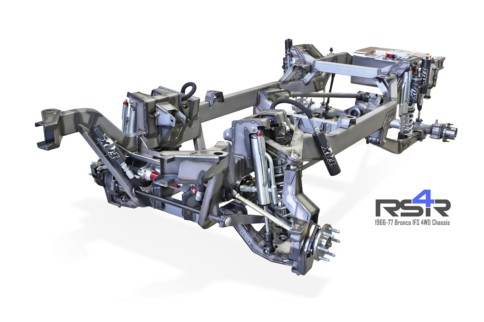 Roadster Shop Introduces 1966-77 Ford Bronco Full IFS 4WD Chassis