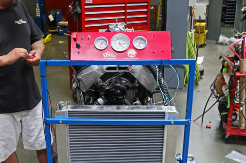 PRW Engine Test Stand Packs Big Function Into A Tiny Footprint