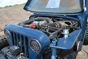 Tim Jackson's Turbo LS Mail Jeep Is Just Gonna Send It
