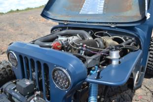 Tim Jackson's Turbo LS Mail Jeep Is Just Gonna Send It