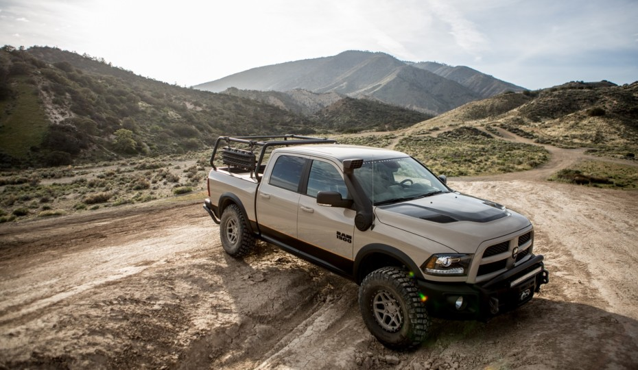 AEV Introduces 4-Inch Suspension System For Ram 1500s With Air Ride