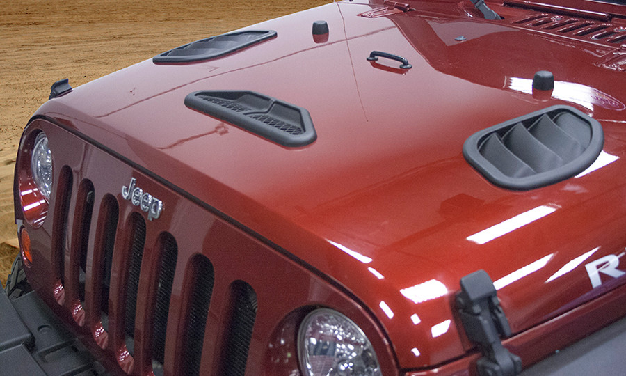 Daystar Releases 2007-17 Jeep Wrangler Combo Hood Vent Kits