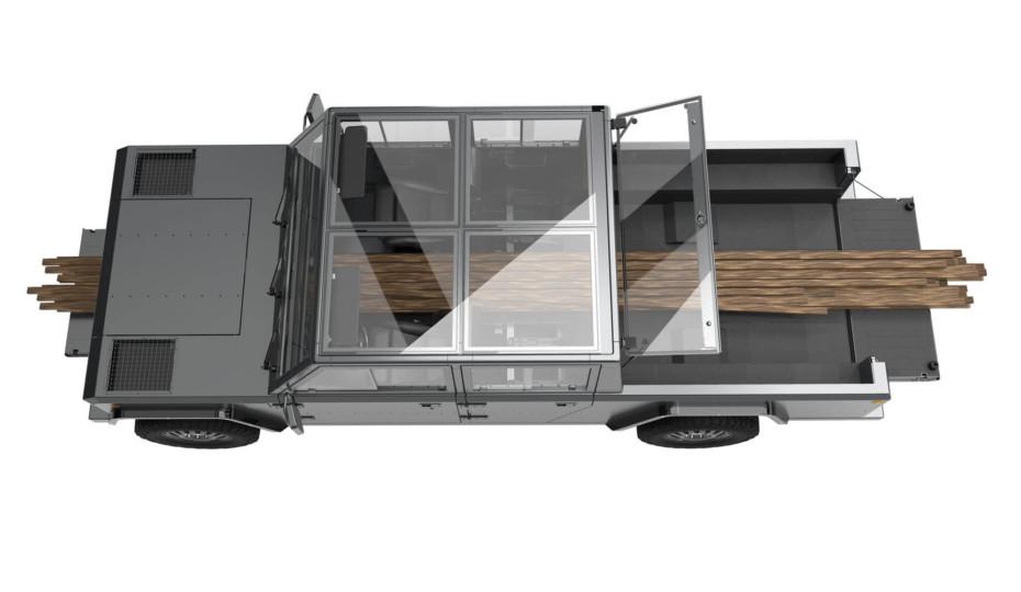 Details on Bollinger Motors All-Electric B2 Pickup Truck 4x4
