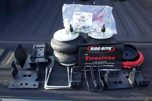 Project TowBoat Gets Ride-Rite Helper Bags