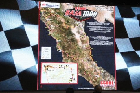 Revealed: 2018 Baja 1000 Course Map, New Trails