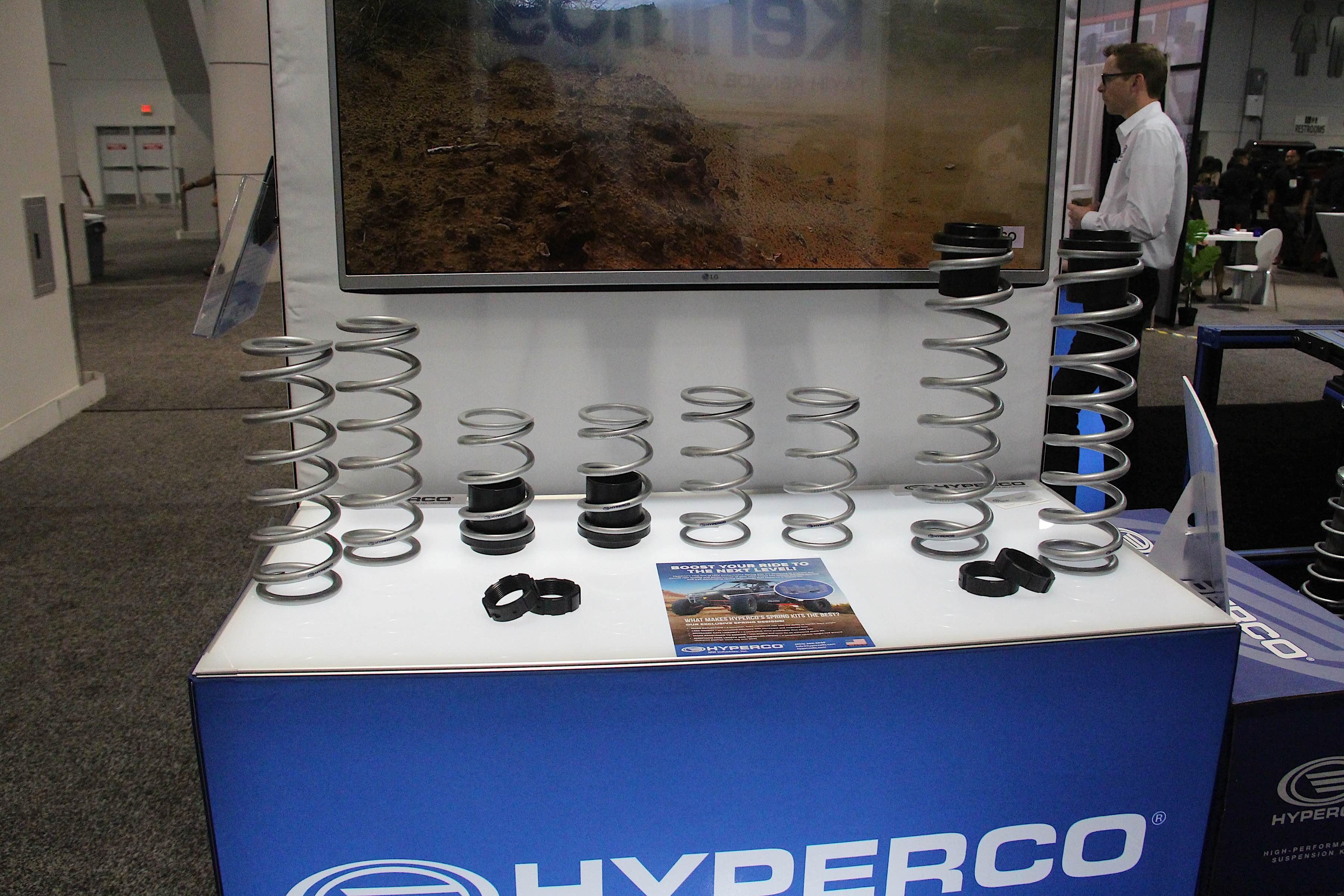 SEMA 2018: Hyperco High-Performance UTV Spring Kits