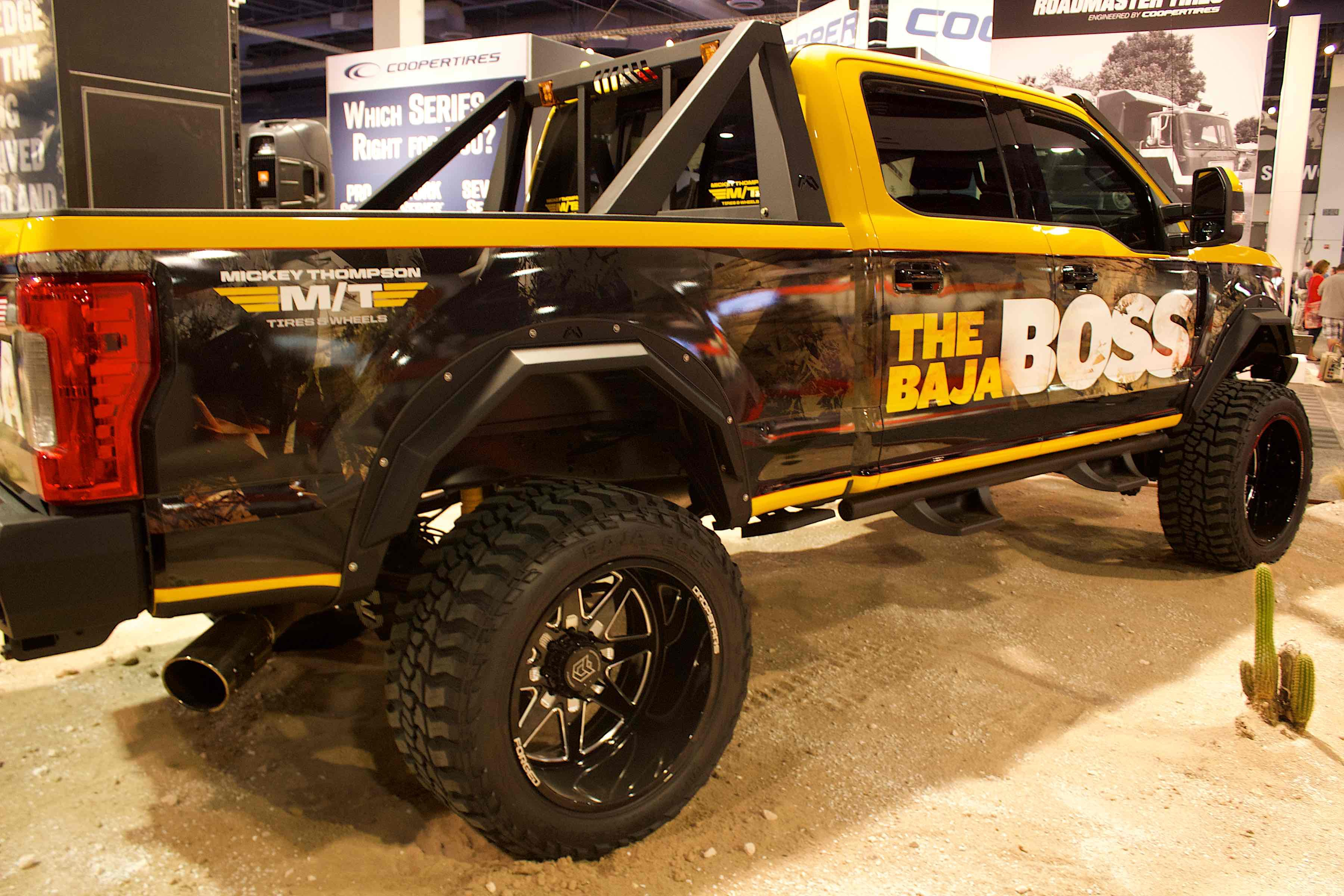 Jeep Wrangler Diesel >> SEMA 2018: Mickey Thompson Showcases New Baja Boss Tires