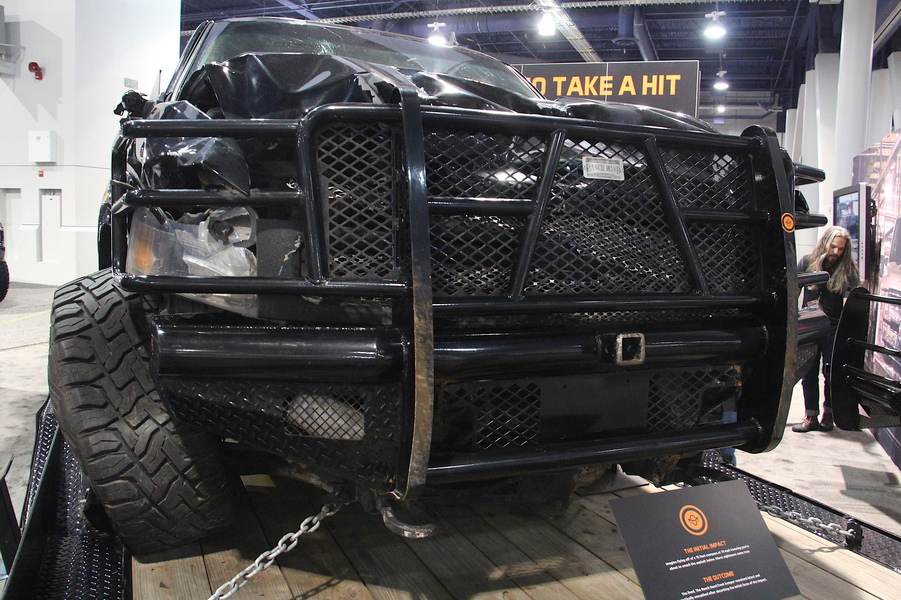 Chevy Colorado Xtreme >> SEMA 2018: Ranch Hand's Wrecked Truck Showcases What A Bumper Can Do